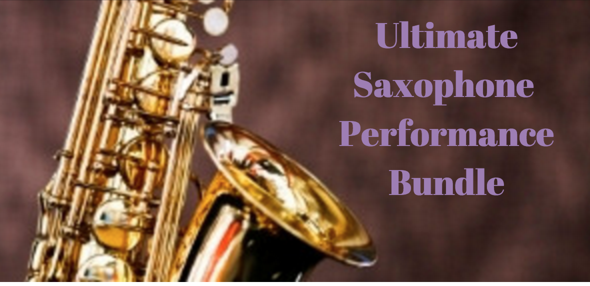 Ultimate Saxophone Performance Bundle – FLASH Sale!